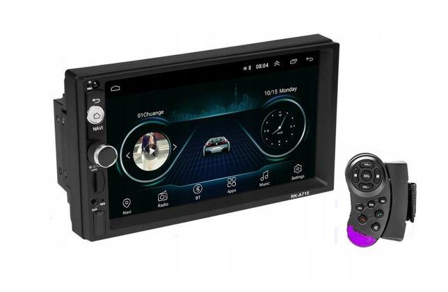 Nowe Radio 2DIN Android 8.1 PILOT GPS WiFi USB 4x50W FullHD
