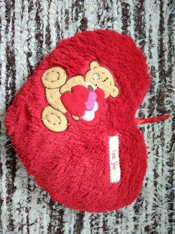 poduszka serce 37 x 27 cm