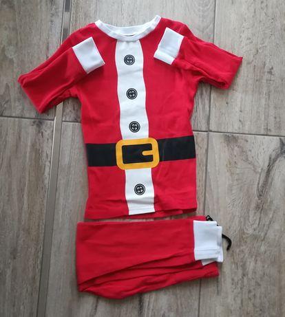 Komplet świąteczny roz 92 spodnie swetry koszula