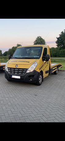 TANIA pomoc drogowa laweta transport 4 osoby max A8 S8 Oleśnica