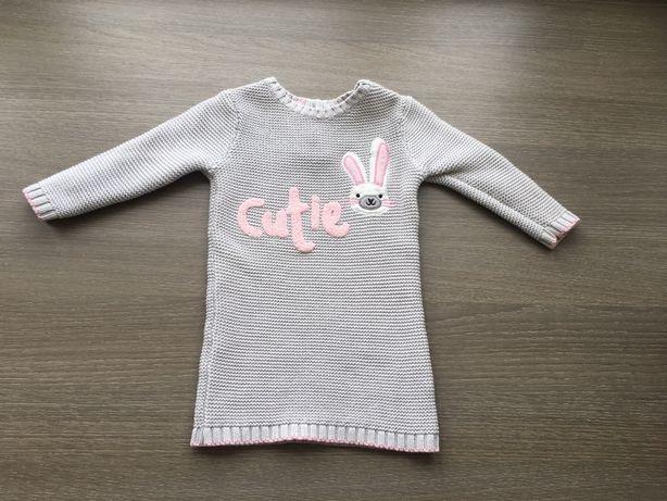 Туника зимняя платье туніка плаття платтячко тепле Mothercare