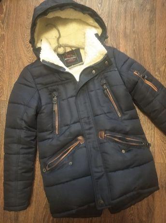Зимняя куртка на рост 150 см
