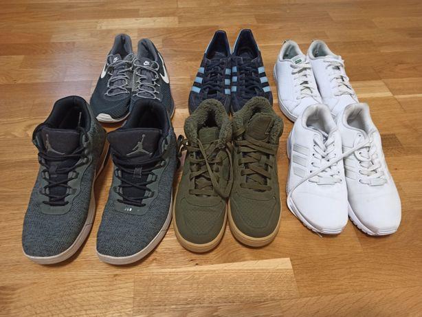 Лот спортивного взуття опт Adidas Nike Reebok обувь кросівки