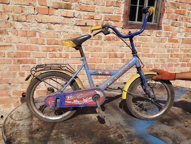Продам велосипед дитячий, на 4-7 років