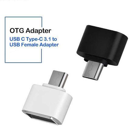 OTG переходник с Usb на Type-C (adapter отг универсальный адаптер)