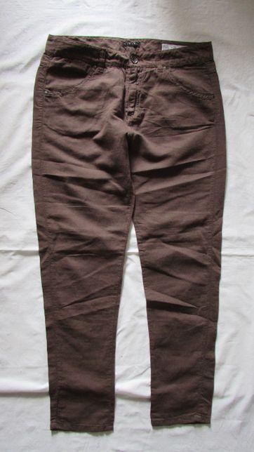 Spodnie bawełna SISLEY L 28/34 jak nowe