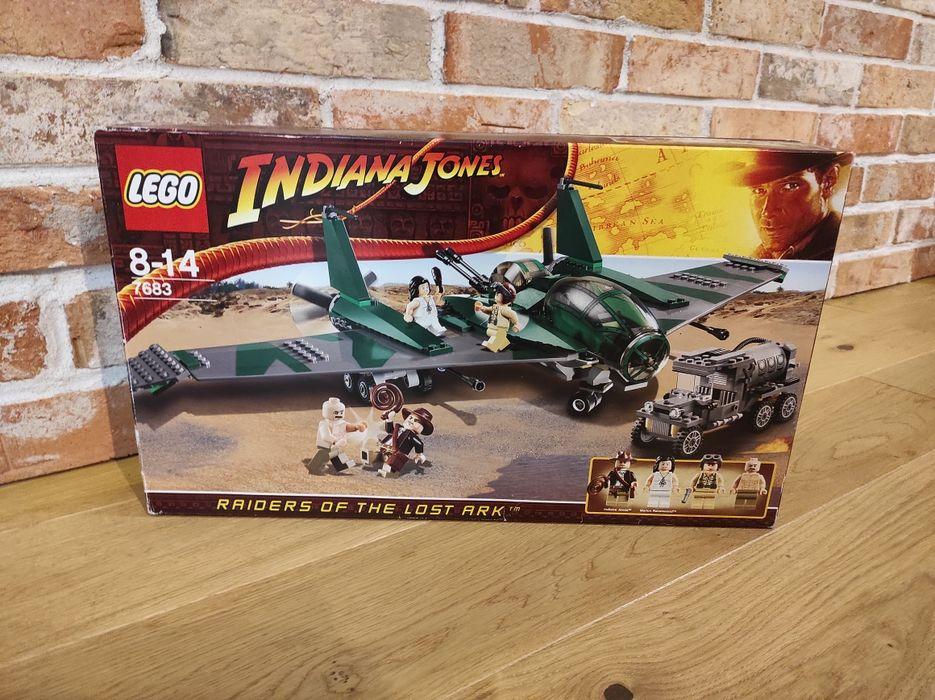 Sprzedam Lego Indiana Jones 7683 Fight on the Flying Wing Warszawa - image 1