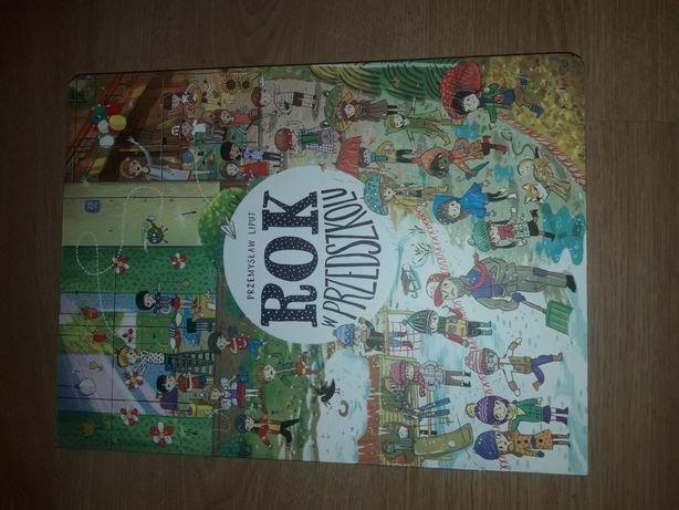 Książka Rok w przedszkolu