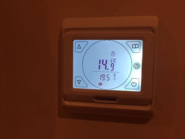 Termostato para piso radiante eléctrico