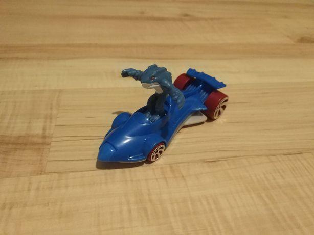 Zabawka Samochód Hotwheels Mattel McDonald's + wyskakująca figurka