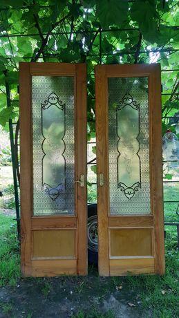 Двері деревяні дубові