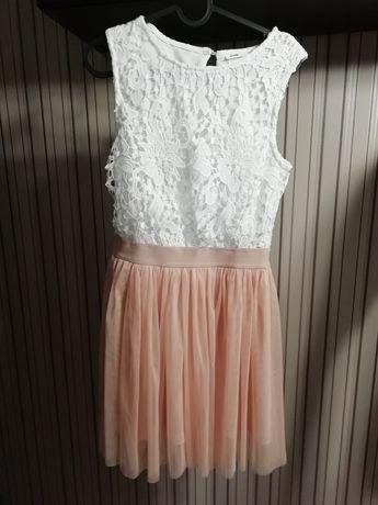 Sukienka sinsay pudrowy róż