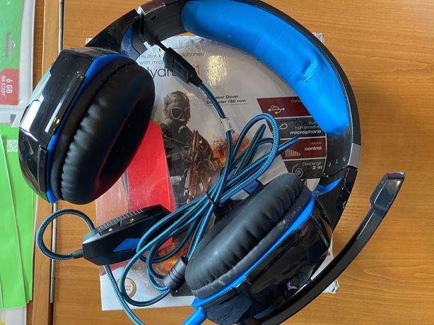Sluchawki Trust Hydra 7.1 z mokrofonem.