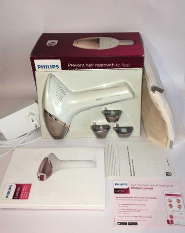 Фотоэпилятор PHILIPS Lumea Prestige BRI956/00 полный комплект 4 насадк