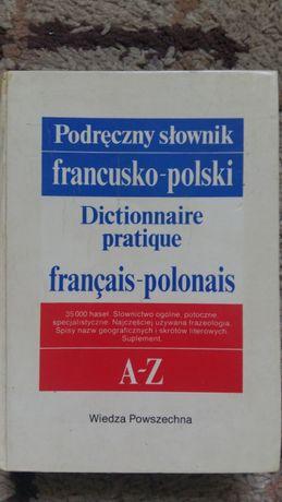 Podręczny słownik francusko-polski - K.Kupisz, B.Kielski