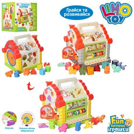 Развивающая игрушка сортер Теремок (9196)