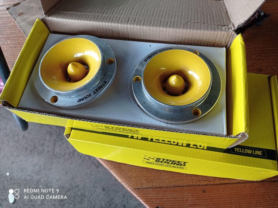 Продам твітераStreet Sound TW-YELLOW 25F Каменец-Подольский - изображение 1