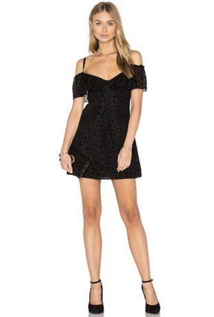 Платье женское летнее черное