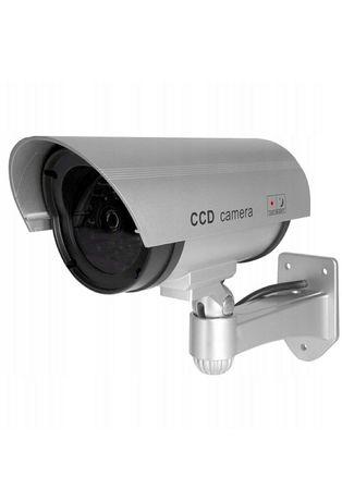 Duża kamera monitoring atrapa. Zewnętrzna noc/dzień