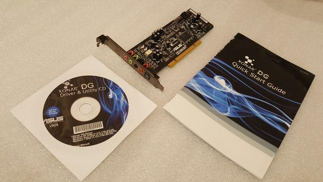Звуковая карта ASUS XONAR DG (PCI)