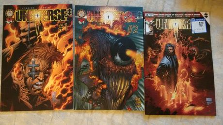 Komiks Universe #1, #2, #3EN P.Jenkins C.Crain wyd Mandragora 2002