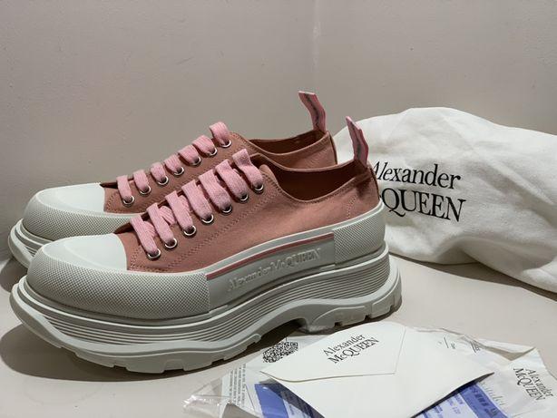 Alexander Mcqueen nowy model buty real 38 24,5 sneaker wys z PL 24h