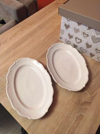 Duże porcelanowe półmiski Wałbrzych