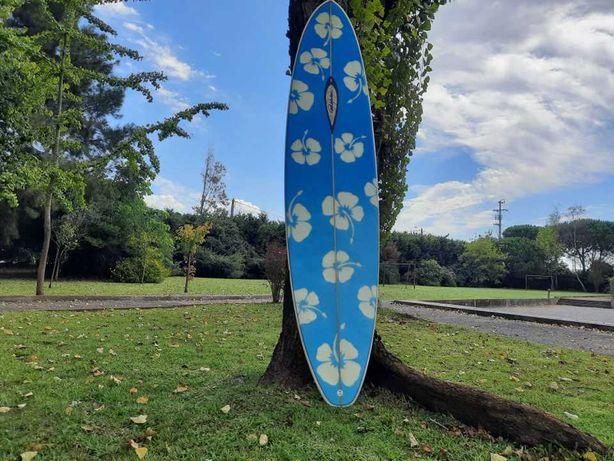 Prancha de Surf - 7'2'' - Shaper Paulo Mandacaru - Em Excelente Estado