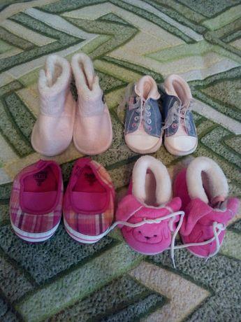 Взуття для дівчинки /пінетки