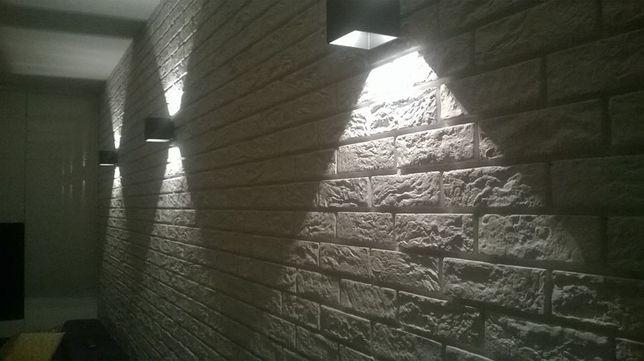 kolekcja kolekcji dekoracyjne gipsowy kamien cegła biała z gipsu gips