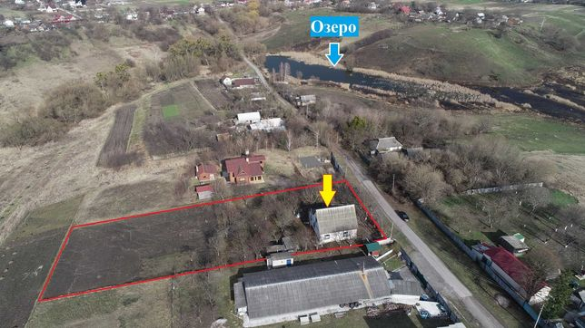 Порадовка - Васильков Продам дом на участке 30 соток, видовой
