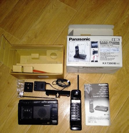 Радіотелефон Panasonic KX-T3861B