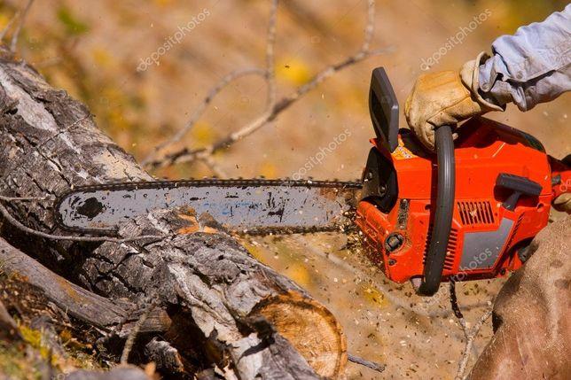 Среза деревьев ,порезка дров.