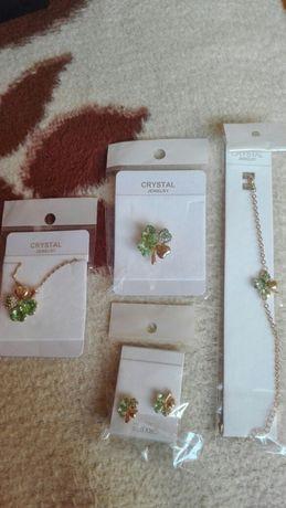 Biżuteria Crystal Damska