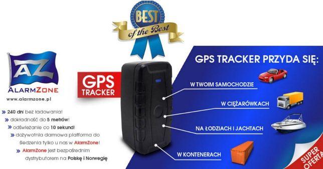 LOKALIZATOR GPS BEZ ABONAMENTU- akumulator 240 dni bez ładowania
