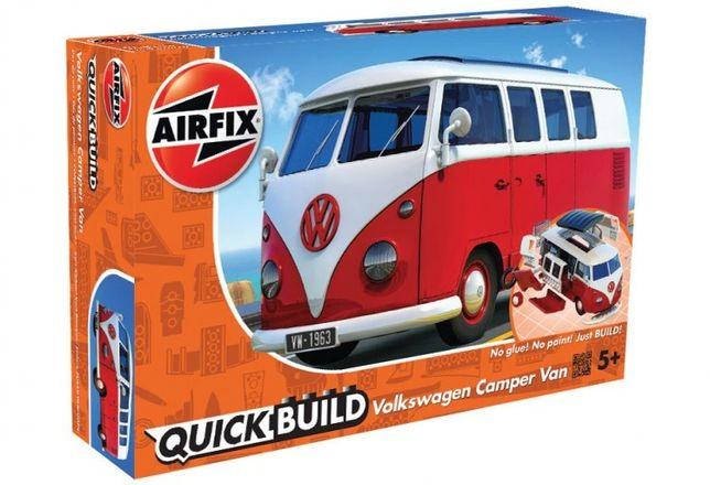 Airfix J6017 VW Camper Van model do składania QUICK BUILD klocki