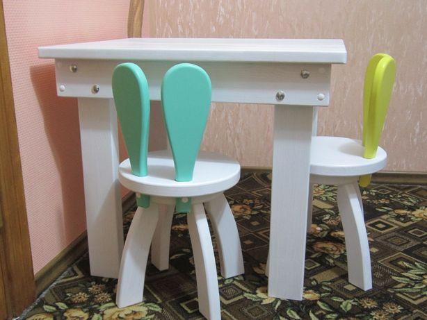 Детские стульчики. Милые стульчики Зайчики! В разных цветах в наличии!