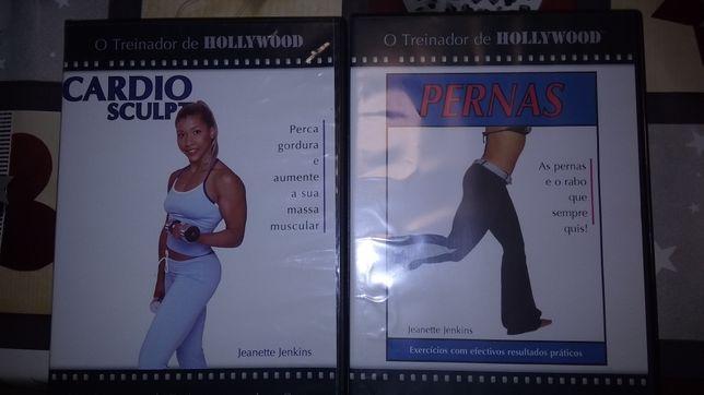 DVD• Treinador de Hollywood: CardioFitness+ Pernas