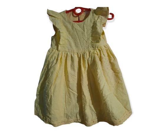Sukienka dziewczęca 92