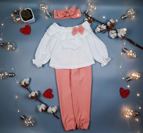 Нарядный праздничный святковий костюм 104-110-116-122-128 см 4-5-6-7 р
