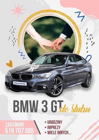 Auto do ślubu BMW GT