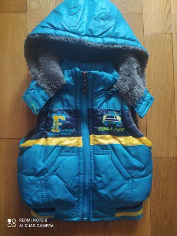 Желетка и курточка