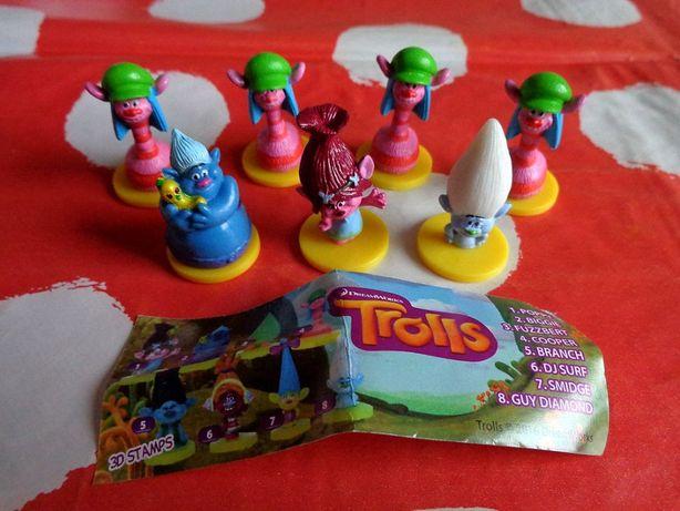 NOWA figurka figurki trolls trolle trole polaris aqua fun biedronka