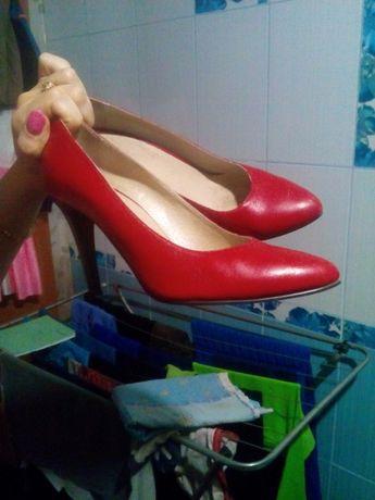 туфли кожаные 38 розмер