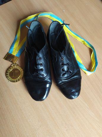 Туфлі для хлопчика для спортивно-бальних танців