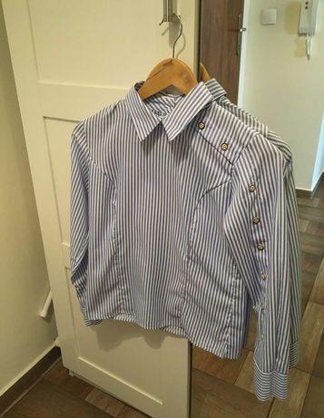 Elegancka koszula w paski r. XS