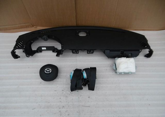 Mazda MX5 tablier cintos airbags