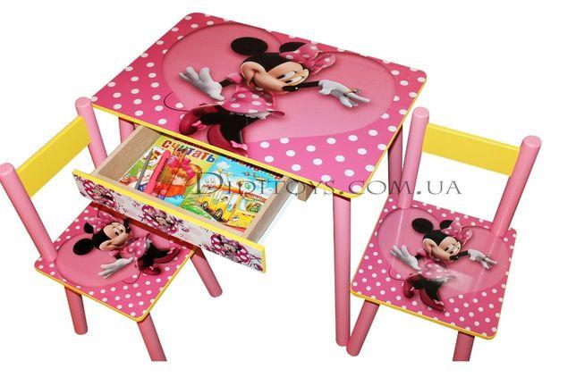 Детский стол Минни Маус (варианты). 1-7 лет. Производитель
