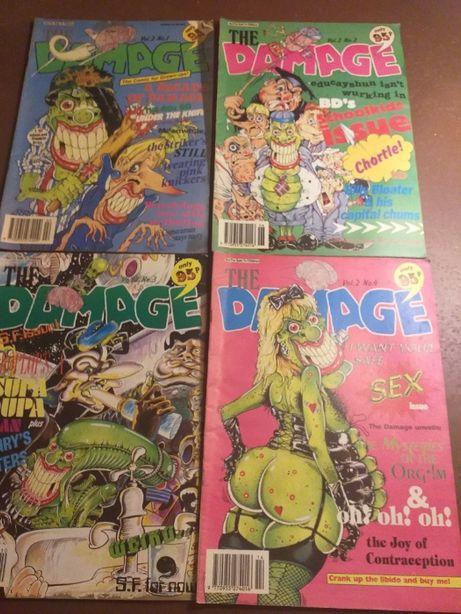 Komiks The Damage: Vol. 2 No. 1,2,3,4