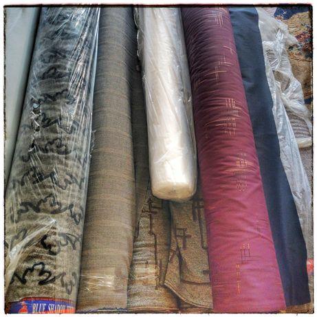 Ткань в рулонах Новая по Низкой цене Дешево